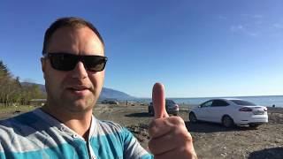 Дикий Пляж в Адлере! Где можно подъехать на машине и пожарить шашлыки?!