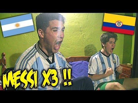 Ecuador 1 - 3 Argentina *REACCIÓN*