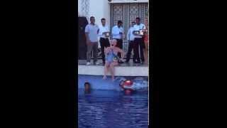 Stella Ice - Ice bucket challenge in Stella Di Mare, Egypt for my chosen charity MIND