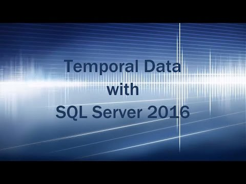 Temporal Tables (Deep Dive) in SQL Server 2016 CTP