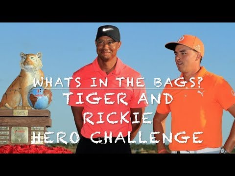 Tiger Woods Rickie Fowler whats in the bag