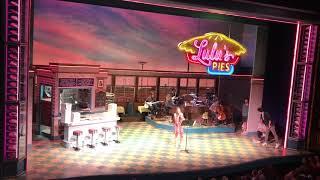 """Ellie singing """"What Baking Can Do"""" at Waitress karaoke!"""
