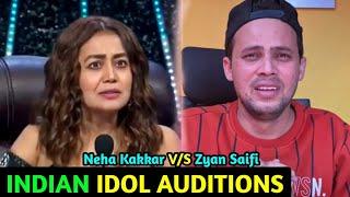 Neha Kakkar V/S Zyan Saifi Indian Idol Auditions   Spoof   Main Bhot Garib Hu Neha