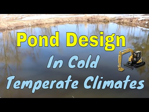 Ponds Designing For Cold Temperate Climates