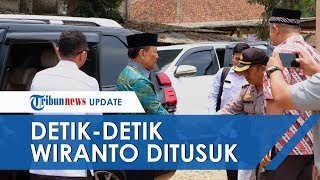 BREAKING NEWS Detik detik Menko Polhukam Wiranto Diserang Orang Tak Dikenal di Pandeglang