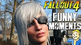 FALLOUT 4 FUNNY MOMENTS - EP 4 (FO4 Funny Moments, Mods, Fails, Kills, Fallout 4 Funtage)