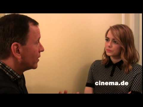 Irrational Man // Emma Stone // Interview // CINEMA-Redaktion