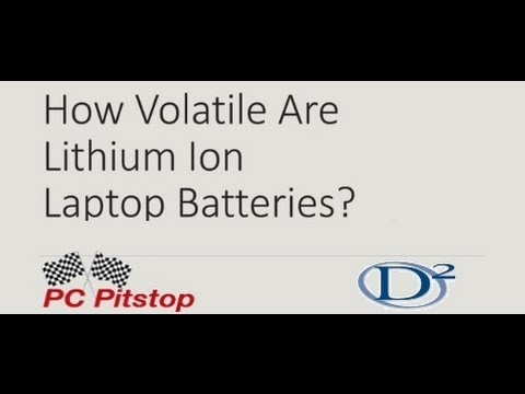 Volatility of Lithium Ion Batteries - 2013