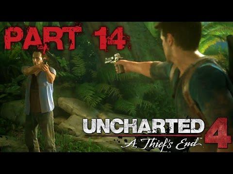 UNCHARTED 4 A Thiefs End بالعربي Part 14 تعبان بس شقي  PS4