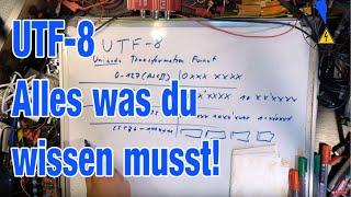 UTF-8 Funktionsweise Kodierung - Alles was du wissen musst!