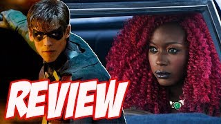 Meet the Titans! Batman and Robin Backstory! - Titans Episode 1 Review