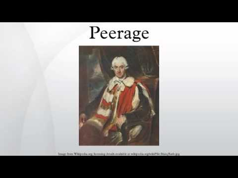 Peerage