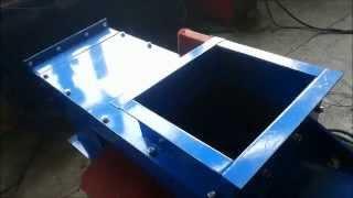 Шнековый винтовой конвейер для транспортировки опилок щепы(Подробнее про шнековые винтовые транспортеры: http://steeltech.by/equipment/transport-and-sorting/transporter-tsh., 2014-12-04T13:17:13.000Z)