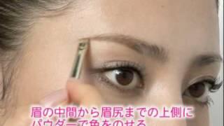 尾花けい子さん著書 付録DVD「眉メイク」【主婦の友社】 thumbnail