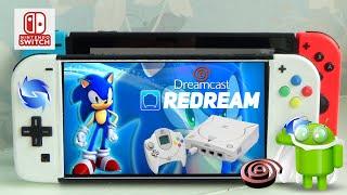 Dreamcast no Nintendo Switch Com Perfeicao