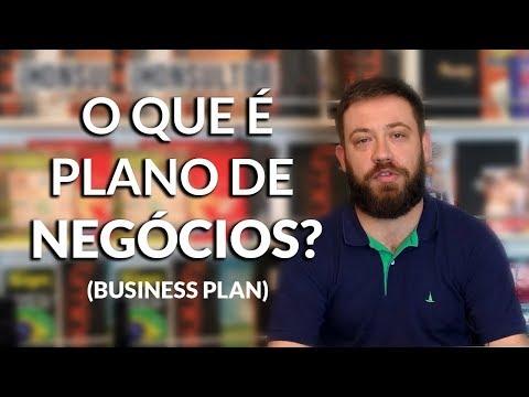 Видео O que é plano de negócios