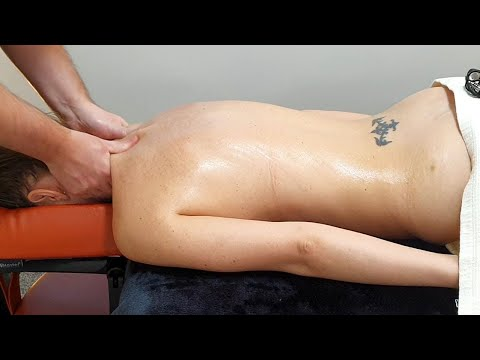 Beautiful Deep Tissue Massage - To Send You To Heaven with Calming Music [ASMR]