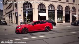 Mercedes C63 AMG BLACK SERIES vs Mercedes C63 S AMG Coupe   Acceleration 0 320km