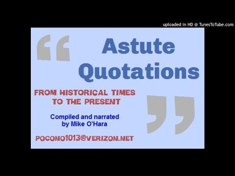 Astute Quotations - Part 3