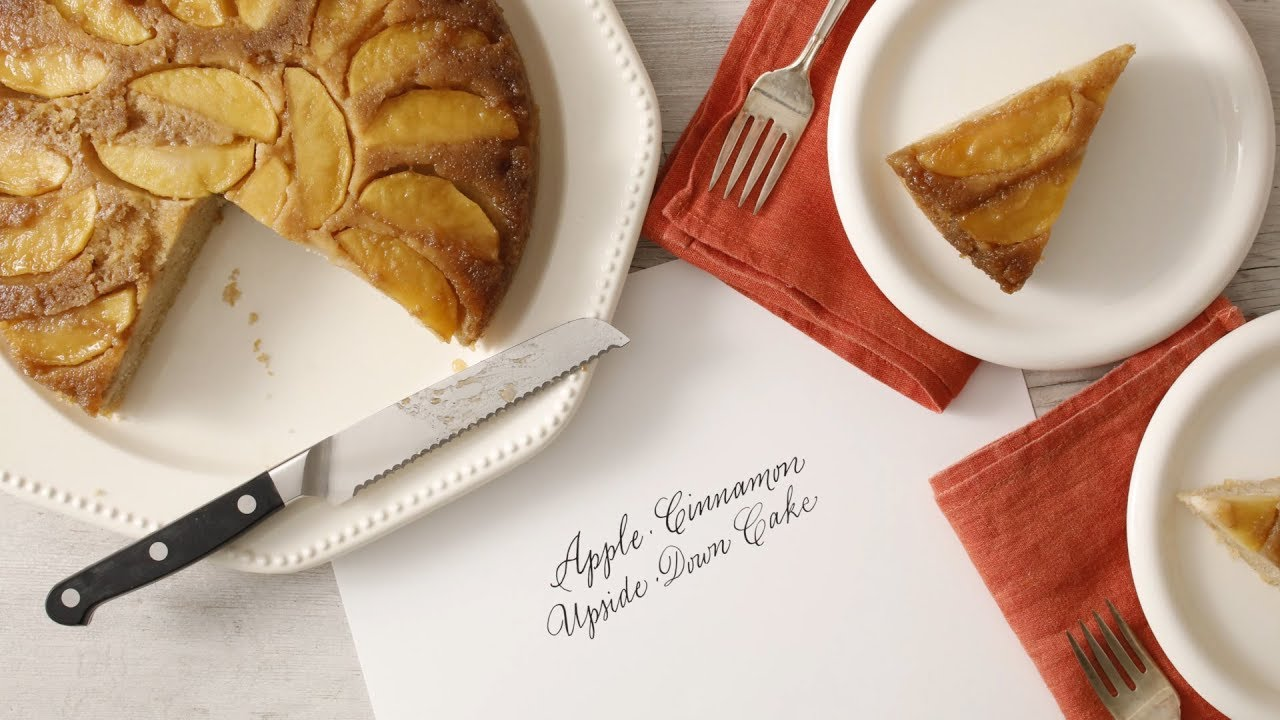 Cinnamon Apple Upside Down Cake Martha Stewart