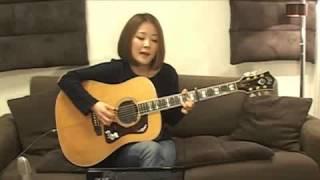 2013/4/14(日) 森恵さんのUSTREAMライブより Megumi Mori is a rising...