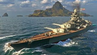 World of Warships - Contact! German Battleship Tirpitz!