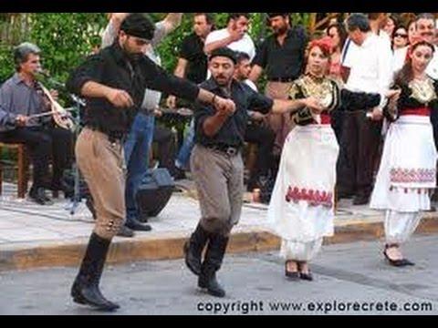 Grèce les danses folkloriques traditionnelles de Créte