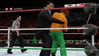 WWE 2K16: Anarchy World Title:: Andrew vs. Kyle Broflovski