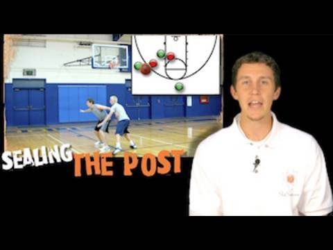 Sealing in the Post (Like Shaq and Yao Ming) -- Shot Science Basketball -- Post Moves