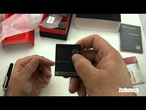 HTC Thunderbolt 4G Unboxing