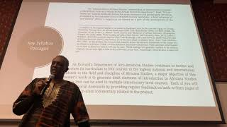 Dr. Carr - Intro to Afro American Studies FQ4-1