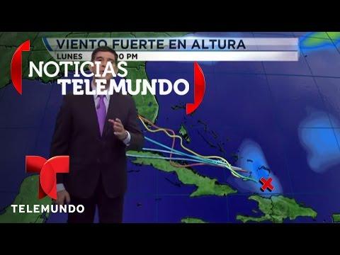 El pronóstico de la fuerte onda que amenaza la Florida | Noticias | Noticias Telemundo
