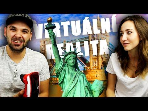 CESTOVÁNÍ VE VIRTUÁLNÍ REALITĚ | Pedro a Anička