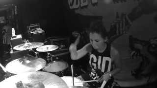 Favorite Weapon - Sixty Saragossa - LIVE - (DRUM CAM)