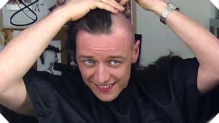 X-MEN APOCALYPSE - James McAvoy Becomes Charles Xavier