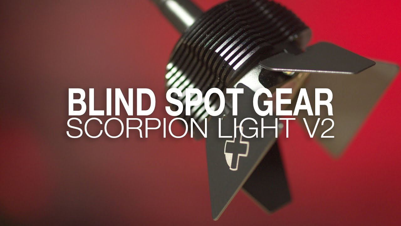 BLIND SPOT GEAR: SCORPION LIGHT V2 HANDS ON REVIEW