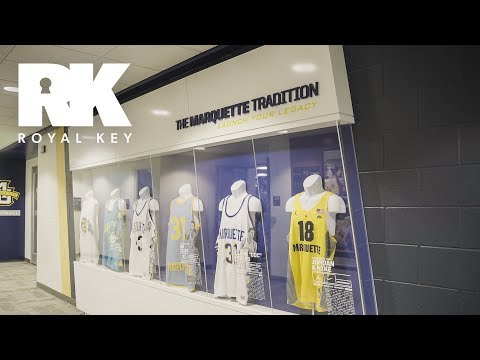 We Toured the Marquette Golden Eagles' Sneaker-Filled Basketball Facility | Royal Key