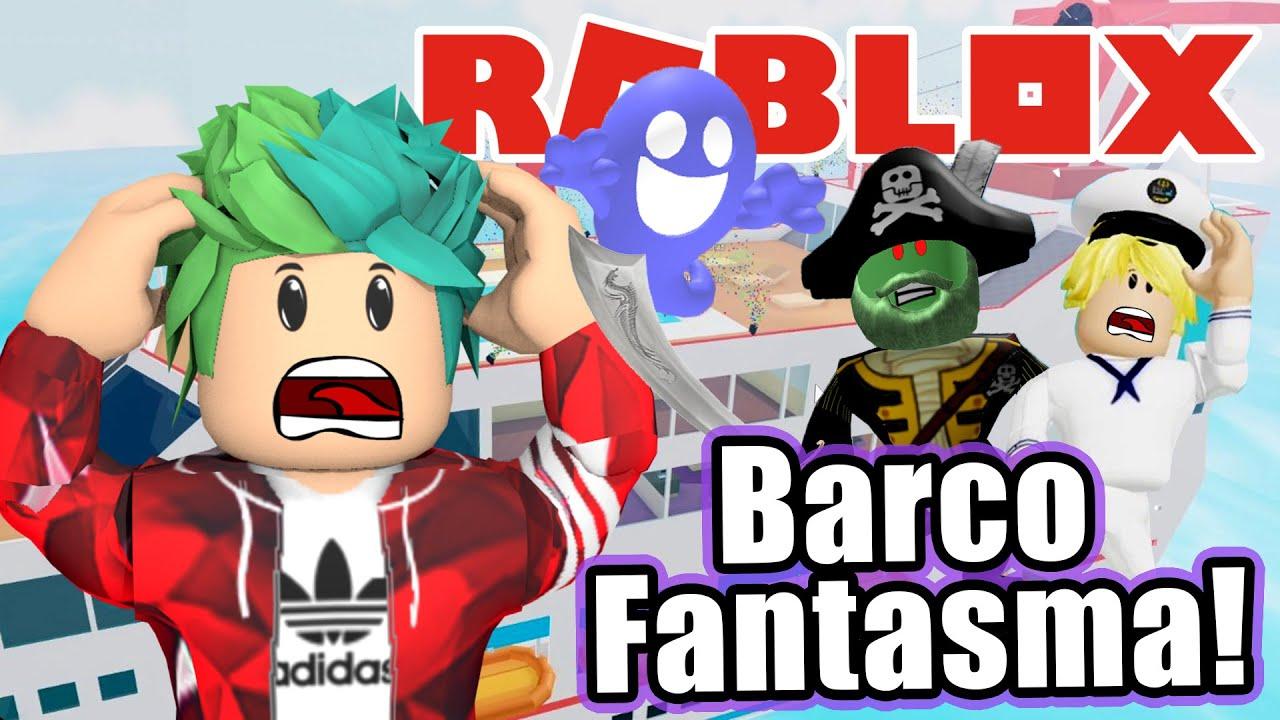 Barco Fantasma en Roblox   Monstruo en Mis Vacaciones   Juegos Karim Juega