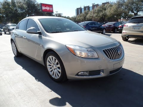2011 Buick Regal 4dr Sdn CXL RL1 (Russelsheim) *Ltd Avail*--- Metrocrest Location (972-820-8211)...