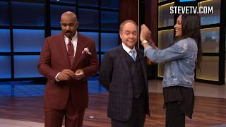 Penn & Teller Attempt Mind-Blowing Card Trick On Steve Harvey