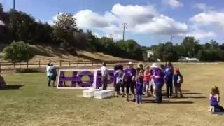 """Releasing Doves at """"Relay for Life"""""""