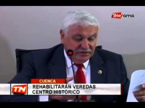 Rehabilitarán veredas centro histórico
