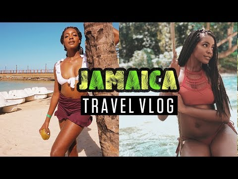TRAVEL VLOG: I Made It To Jamaica And There Was Major Drama ! We Got Played 😭 | PART 1