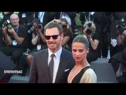 Cast of The Light Between Oceans on Venice's red carpet
