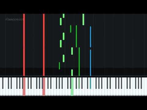 Ludwig Van Beethoven - Moonlight Sonata (Piano & Flute) [Piano Tutorial + Sheet music] thumbnail