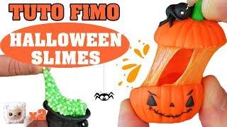TUTO FIMO - HALLOWEEN SLIMES