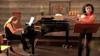 GERAEDTS: Sonatina for Flute & Piano - I. Allegro Giocoso (1/3)