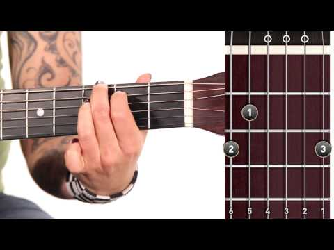 Learn Guitar: How to Play a G Major Chord