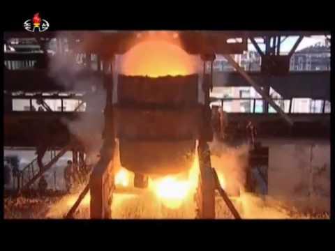 DPRK Steel Factory