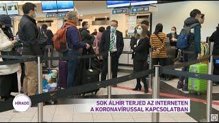 Sok álhír terjed az interneten a koronavírussal kapcsolatban